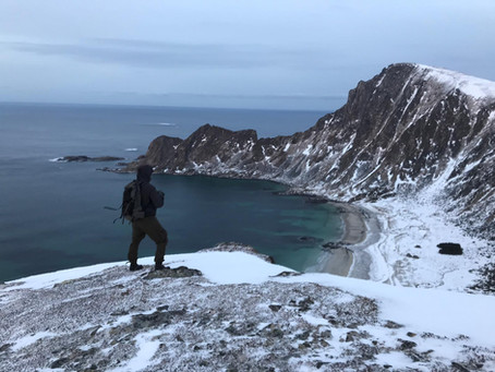 Måtinden - winter hike
