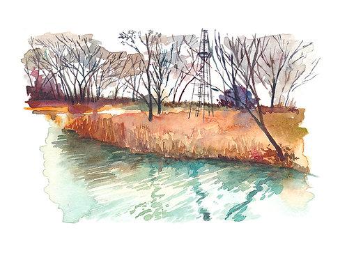Halstead pond