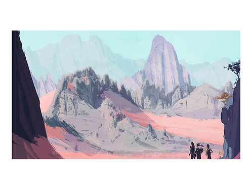 Desert mountain 01