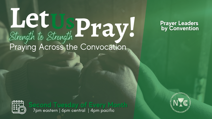 Let Us Pray   Praying Across the Convocation