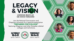 LEGACY & VISION - Preparing for College