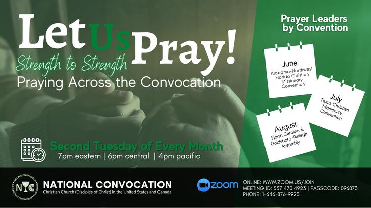 Let us Pray   June, July, August, 2021
