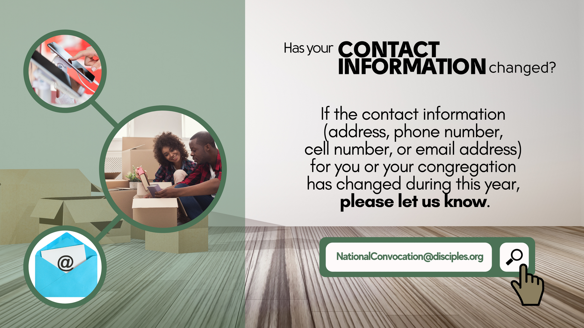 Contact Information Changed