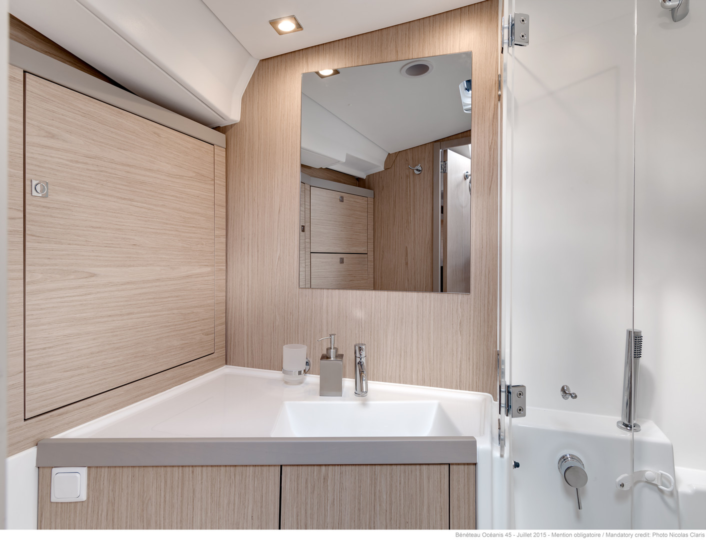 below deck: master cabin toilet