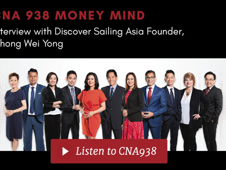 Discover Sailing Asia Gets Interviewed with CNA938
