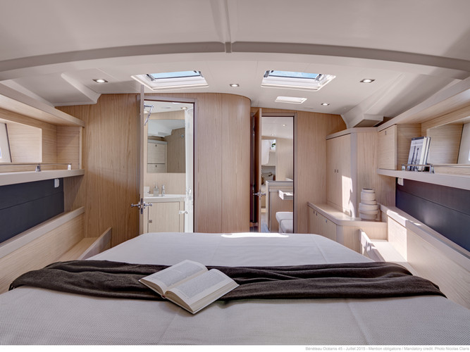 below deck: master cabin