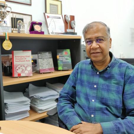 特別インタビュー モナッシュ大学マレーシアのコロナウイルス・インフルエンザA研究の第一人者、スニル・ラル教授にインタビュー