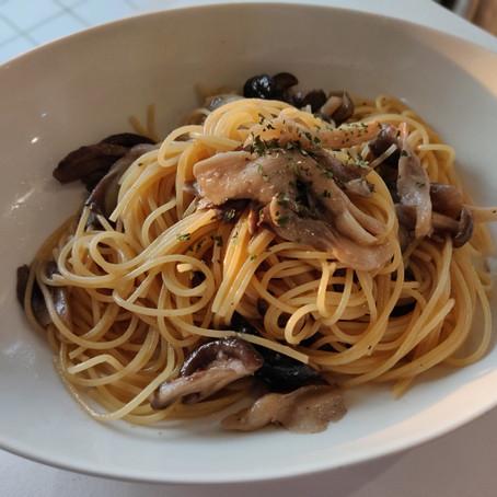 Japanese flavor and vegetarian-friendly, Shio-koji recipes! Mushroom pasta and grilled prawn season