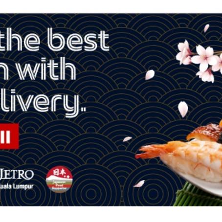 Grab Food×JETROによる日本食プロモーションがスタート