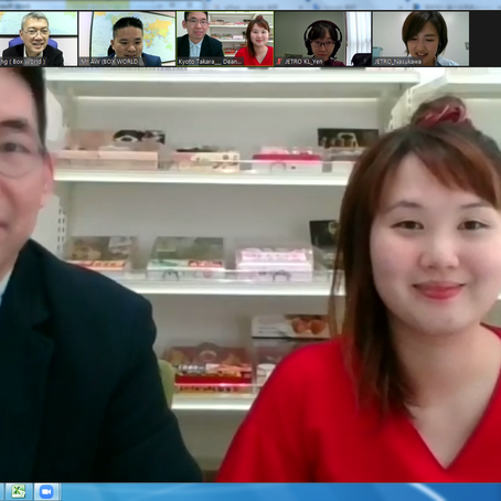 JETROオンライン商談会を初開催 低迷する日本産農水産物・食品の輸出活性化を後押し