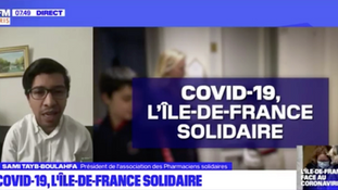 Covid-19, l'Île-de-France solidaire