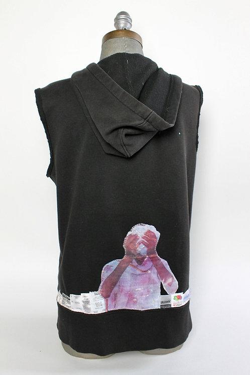 Faceless Farmer sweatshirt vest