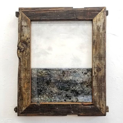 Thick Reclaimed Wood Frame
