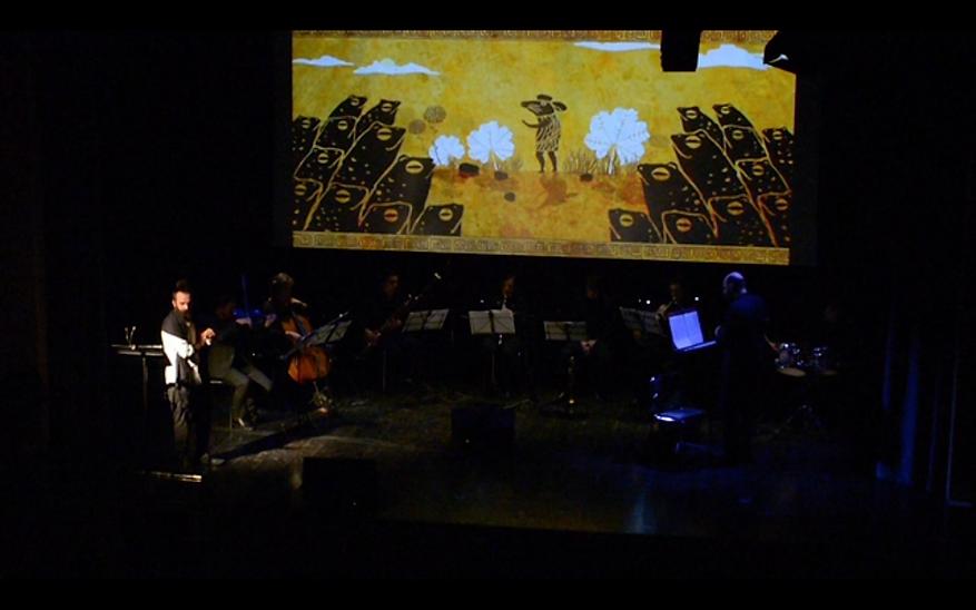 Andrea Acciai | Teatro e Formazione | Bologna | Batracomiomachia | la battaglia dei topi e delle rane | Orchestra Senzaspine