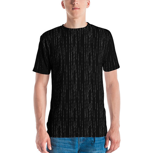 Stripped Round neck Men's T-shirt