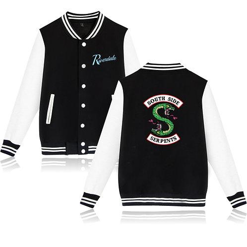 Riverdale Hoodie Southside Serpent Unisex Baseball Jacket.