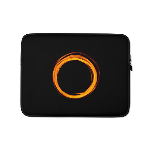 Orange Ring Laptop Sleeve