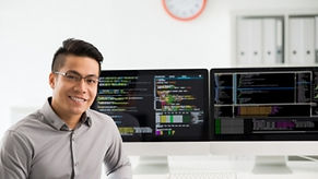 Picture of computer tech