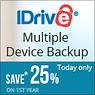 iDrive backup services