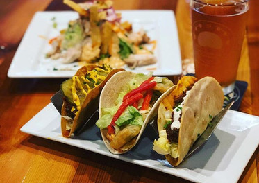$2 gourmet tacos every Tuesday! As well