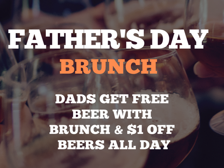 Father's Days Brunch at Moonrise Brewing Co.