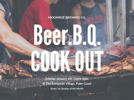 Beer.B.Q. Cook Out at Moonrise Brewing Co.