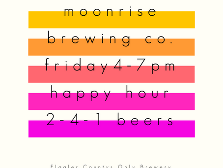 Happy Hour at Moonrise Brewing Co.