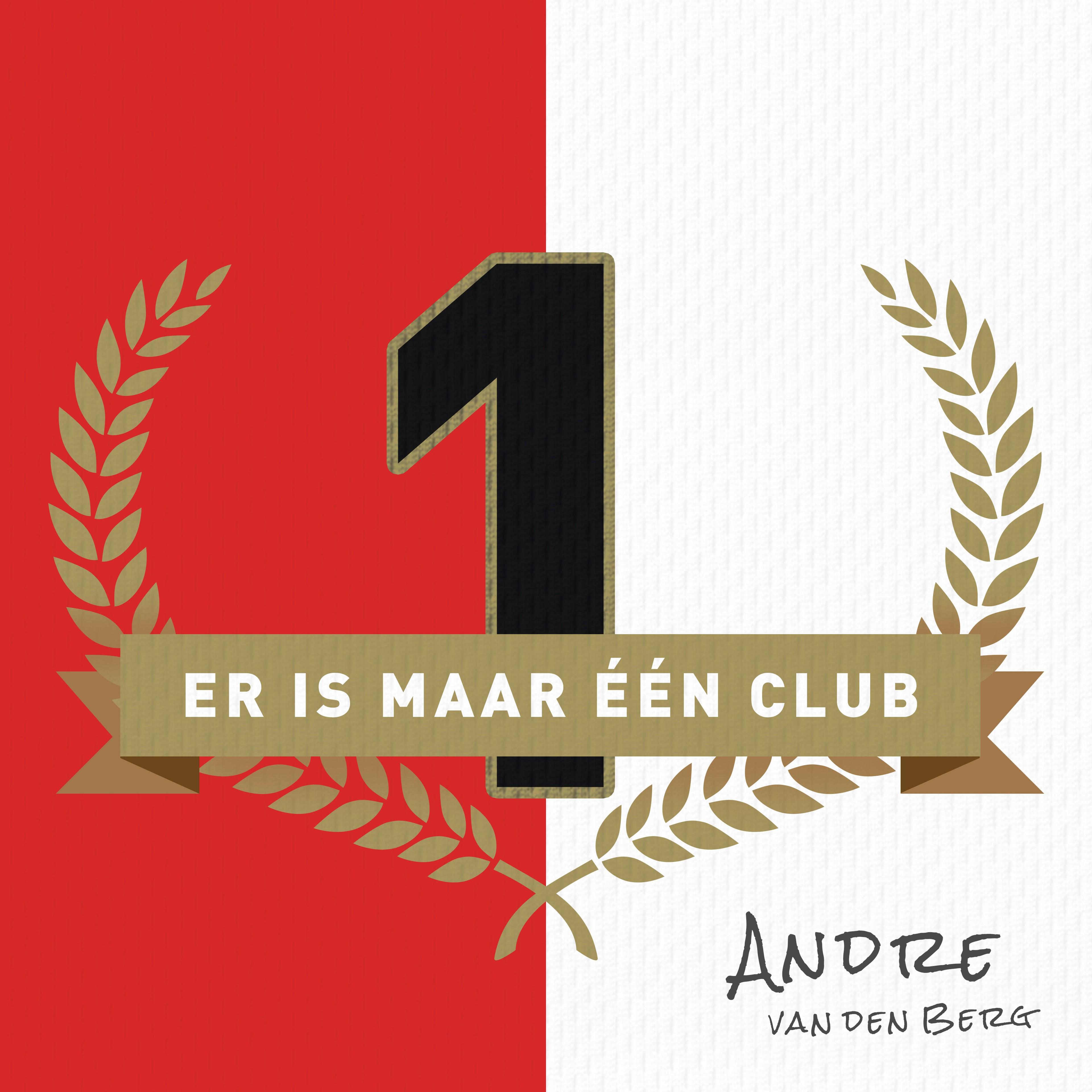 Andre van den Berg - Er is maar een club