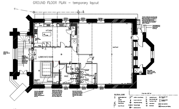 Update Ground Floor Plan
