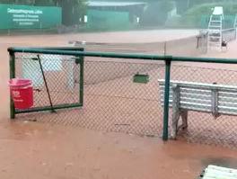 Wenn es mal richtig regnet im Grävingholz