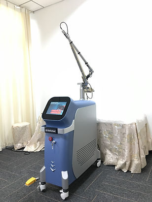 Q-switch Nd:yag laser tattoo removal system
