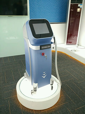 755+808+1064nm diode laser hair removal machine