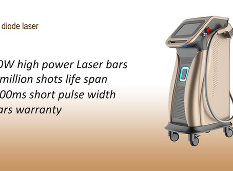 1200W diode laser hair removal machine