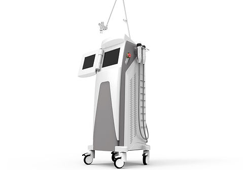 Co2 Fractional laser system with vaginal heads