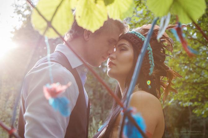Свадьба Покахонтас