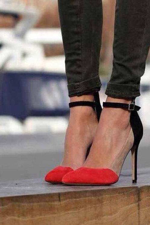 Nina Covaci Three Colors Shoes