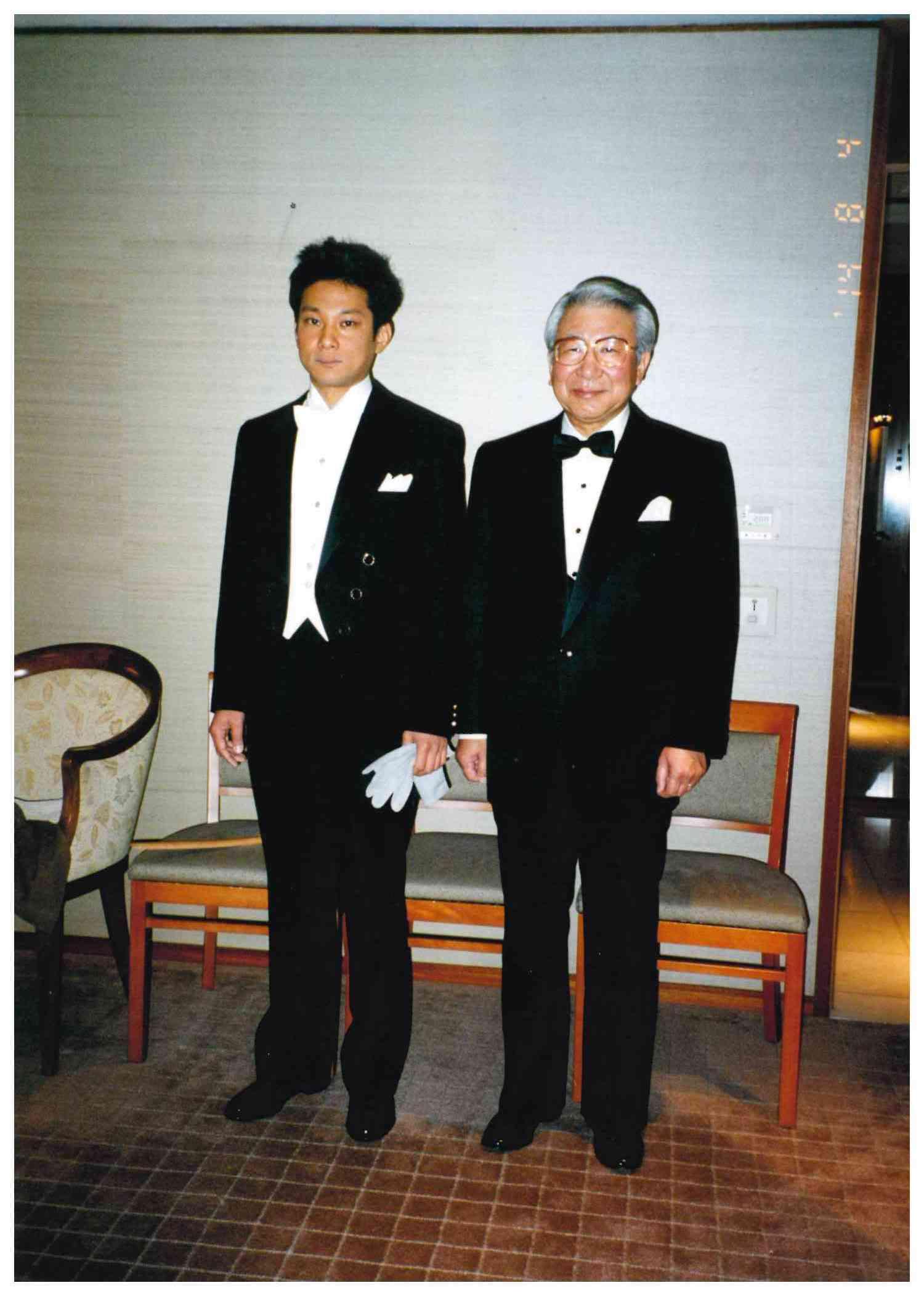 ドレスコート(燕尾服・ホワイトタイ)