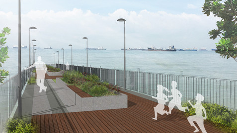 Parbury Outfall Deck Artist Impression