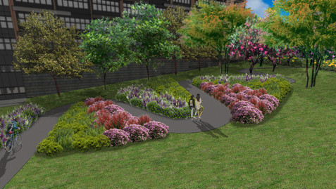 Flower Meadow Terrace Artist Impression