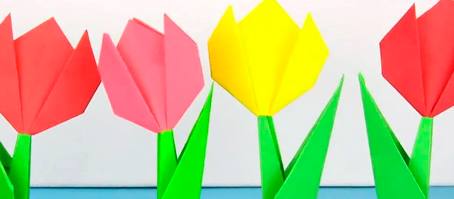 Dobradura de flor