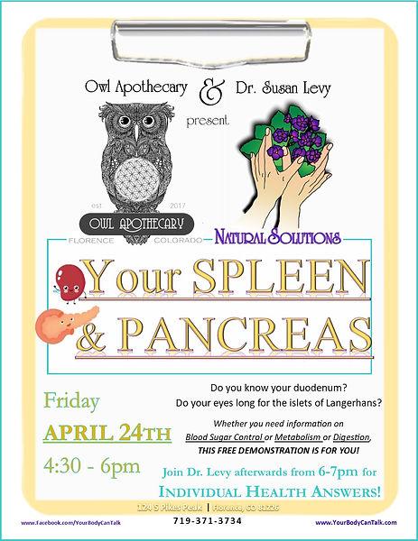 OWL FLYER 04 - Your Spleen & Pancreas.jp