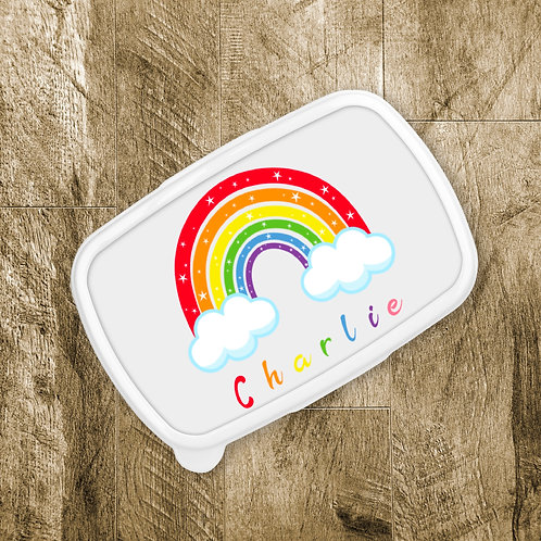 Sparkling Rainbow Lunch Box