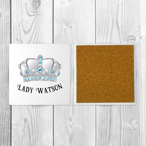 Lord and Lady Matching Coasters