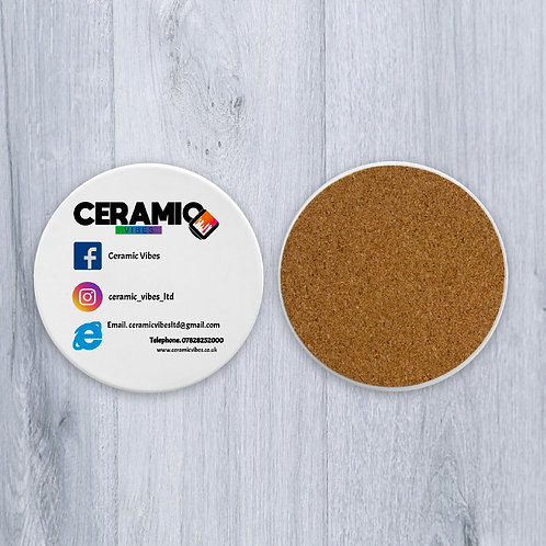 Business Branded Coasters