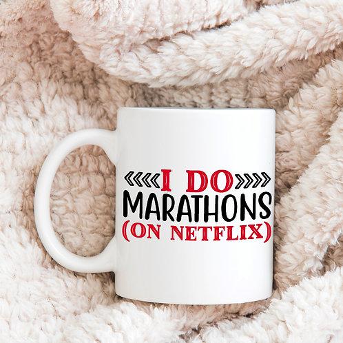 Netflix Marathon Mug