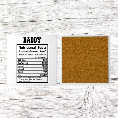 Daddy nutritional facts