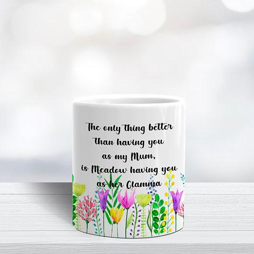Meadow Flower Pot