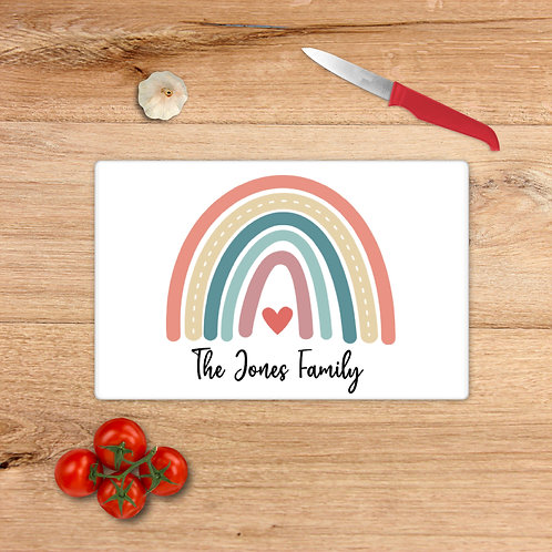 Boho Rainbow Family