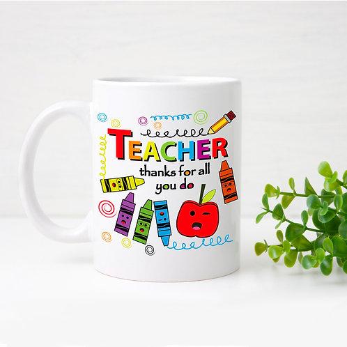 Teachers thanks