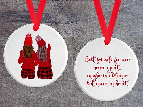 Best Friends in winter